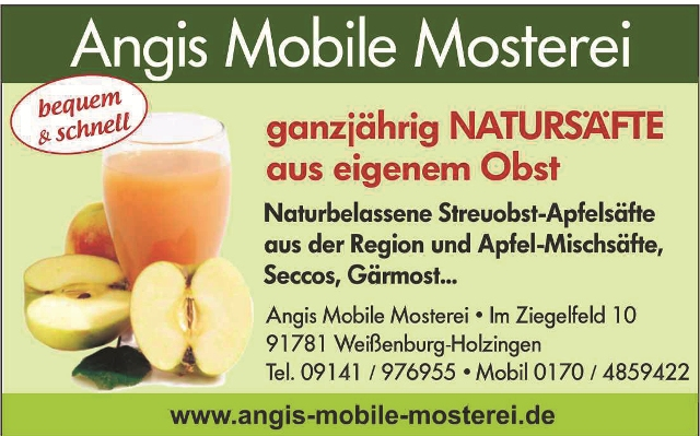 angis mobile mosterei
